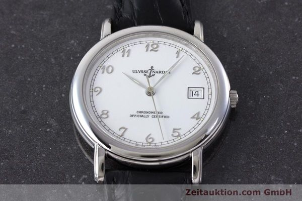 Used luxury watch Ulysse Nardin San Marco steel automatic Kal. ETA 2892-2 Ref. 133-77  | 161530 13