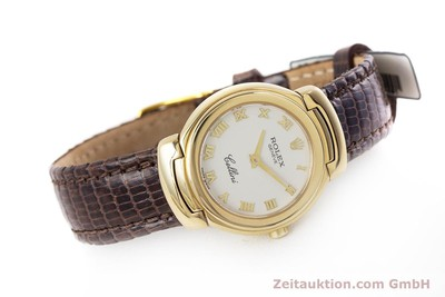 ROLEX LADY CELLINI CESTELLO 18K (0,750) GOLD DAMENUHR 6621 VP: 8200,- Euro [161531]