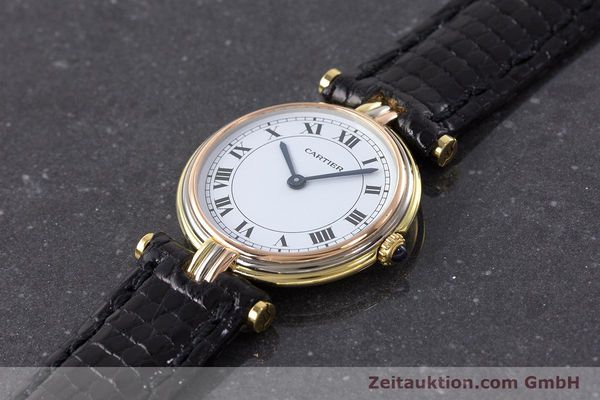 Used luxury watch Cartier * 18 ct gold quartz Kal. 81  | 161533 01