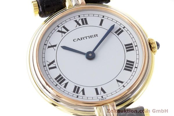 Used luxury watch Cartier * 18 ct gold quartz Kal. 81  | 161533 02