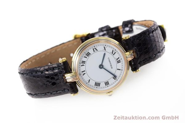 Used luxury watch Cartier * 18 ct gold quartz Kal. 81  | 161533 03