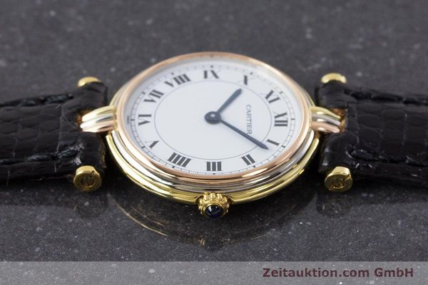 Used luxury watch Cartier * 18 ct gold quartz Kal. 81  | 161533 05