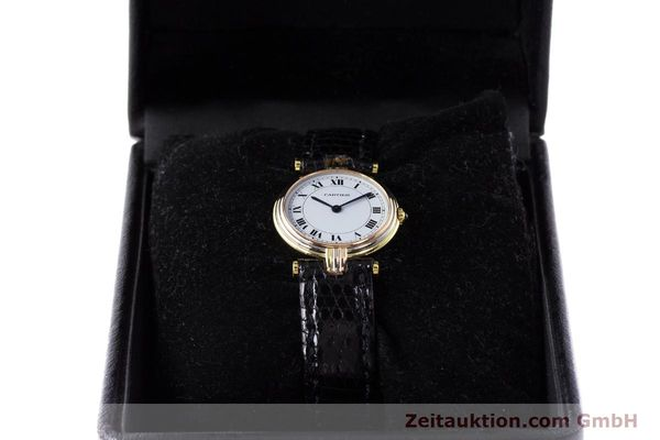 Used luxury watch Cartier * 18 ct gold quartz Kal. 81  | 161533 07