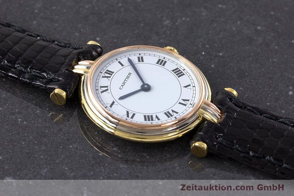 Used luxury watch Cartier * 18 ct gold quartz Kal. 81  | 161533 12