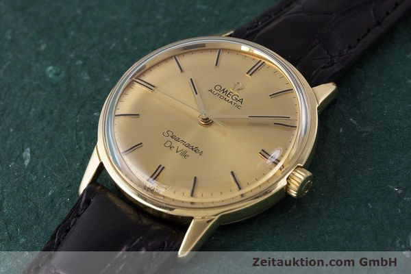 Used luxury watch Omega Seamaster 18 ct gold automatic Kal. 552 Ref. 165.001 VINTAGE  | 161535 01
