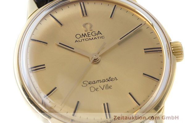 Used luxury watch Omega Seamaster 18 ct gold automatic Kal. 552 Ref. 165.001 VINTAGE  | 161535 02