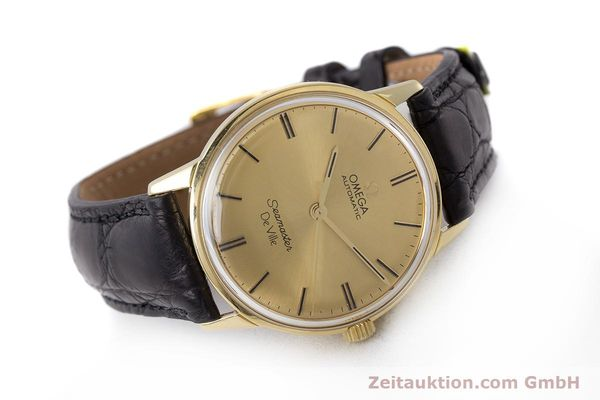 Used luxury watch Omega Seamaster 18 ct gold automatic Kal. 552 Ref. 165.001 VINTAGE  | 161535 03