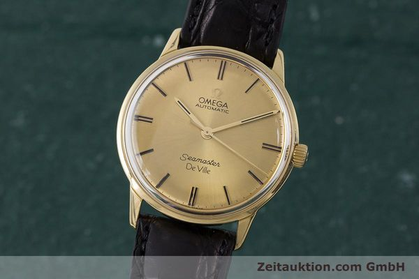 Used luxury watch Omega Seamaster 18 ct gold automatic Kal. 552 Ref. 165.001 VINTAGE  | 161535 04
