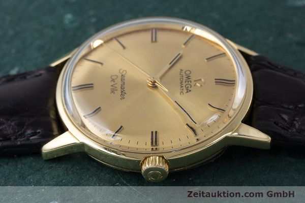 Used luxury watch Omega Seamaster 18 ct gold automatic Kal. 552 Ref. 165.001 VINTAGE  | 161535 05