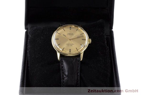 Used luxury watch Omega Seamaster 18 ct gold automatic Kal. 552 Ref. 165.001 VINTAGE  | 161535 07