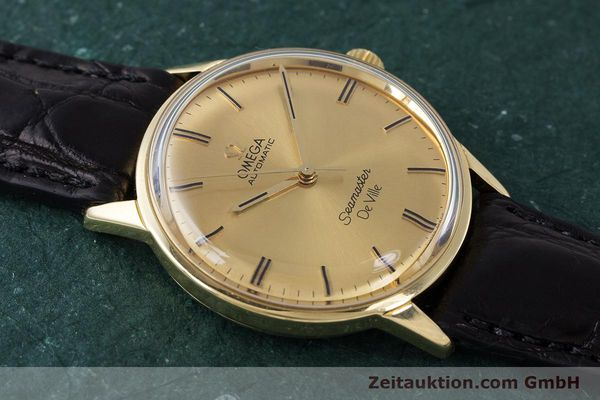 Used luxury watch Omega Seamaster 18 ct gold automatic Kal. 552 Ref. 165.001 VINTAGE  | 161535 13