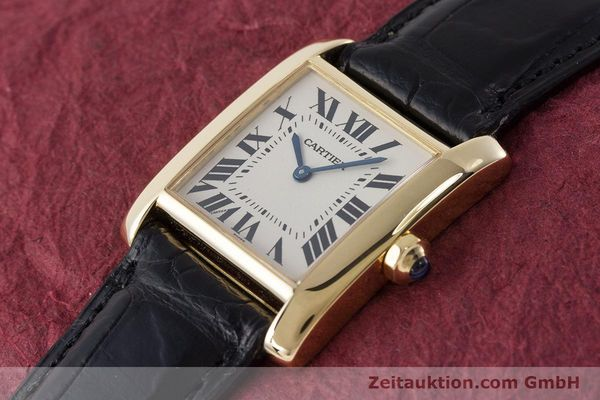 Used luxury watch Cartier Tank 18 ct gold quartz Kal. 157 Ref. 1821  | 161538 01