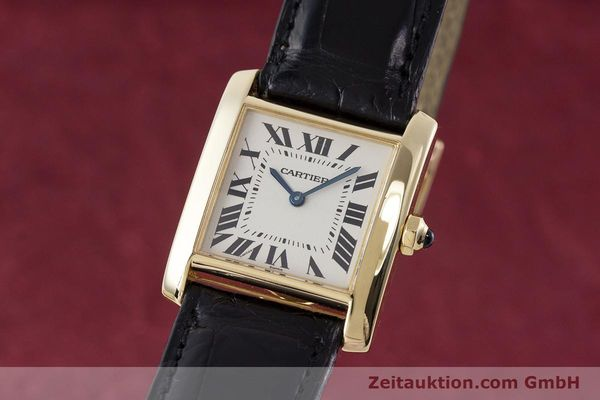CARTIER TANK ORO 18 CT QUARZO KAL. 157 [161538]
