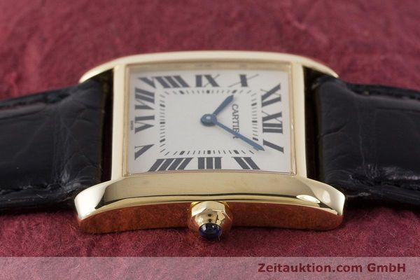 Used luxury watch Cartier Tank 18 ct gold quartz Kal. 157 Ref. 1821  | 161538 05