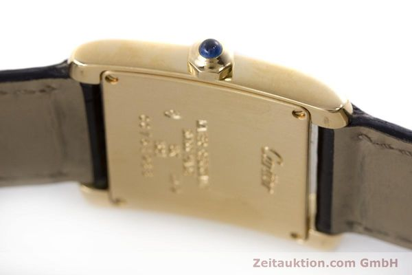 Used luxury watch Cartier Tank 18 ct gold quartz Kal. 157 Ref. 1821  | 161538 08