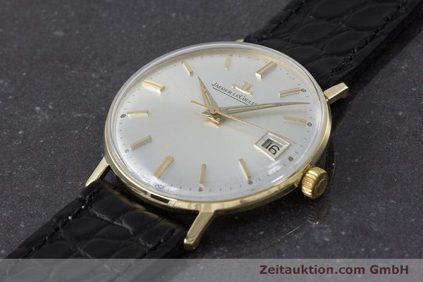 Used luxury watch Jaeger Le Coultre * 18 ct gold manual winding Kal. 886 Ref. E21004 VINTAGE  | 161539 01