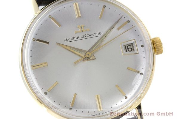 Used luxury watch Jaeger Le Coultre * 18 ct gold manual winding Kal. 886 Ref. E21004 VINTAGE  | 161539 02