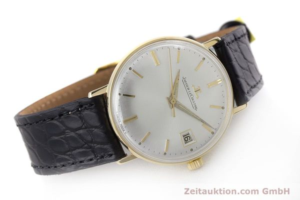 Used luxury watch Jaeger Le Coultre * 18 ct gold manual winding Kal. 886 Ref. E21004 VINTAGE  | 161539 03