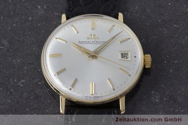 Used luxury watch Jaeger Le Coultre * 18 ct gold manual winding Kal. 886 Ref. E21004 VINTAGE  | 161539 13