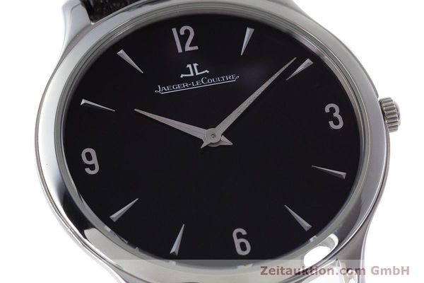 Used luxury watch Jaeger Le Coultre Master Ultra Thin steel manual winding Kal. 849 Ref. 145.8.79S  | 161541 02