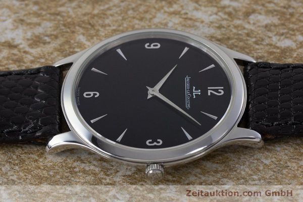 Used luxury watch Jaeger Le Coultre Master Ultra Thin steel manual winding Kal. 849 Ref. 145.8.79S  | 161541 05