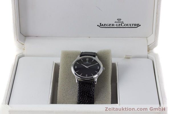 Used luxury watch Jaeger Le Coultre Master Ultra Thin steel manual winding Kal. 849 Ref. 145.8.79S  | 161541 07