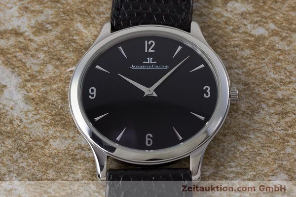 Used luxury watch Jaeger Le Coultre Master Ultra Thin steel manual winding Kal. 849 Ref. 145.8.79S  | 161541 13