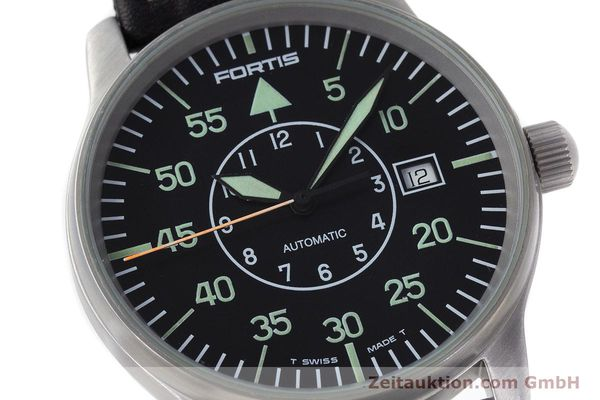 Used luxury watch Fortis Flieger steel automatic Kal. ETA 2824-2 Ref. 595.10.46  | 161543 02