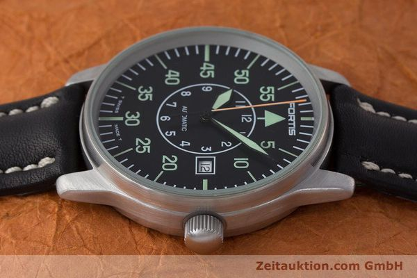 Used luxury watch Fortis Flieger steel automatic Kal. ETA 2824-2 Ref. 595.10.46  | 161543 05