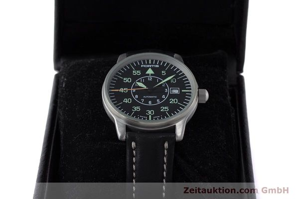 Used luxury watch Fortis Flieger steel automatic Kal. ETA 2824-2 Ref. 595.10.46  | 161543 07