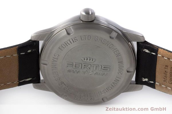 Used luxury watch Fortis Flieger steel automatic Kal. ETA 2824-2 Ref. 595.10.46  | 161543 09