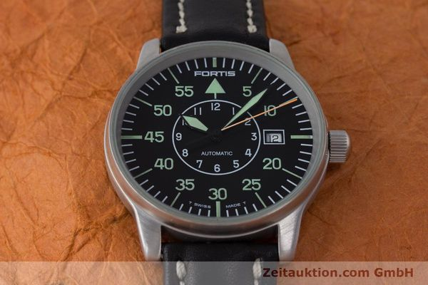 Used luxury watch Fortis Flieger steel automatic Kal. ETA 2824-2 Ref. 595.10.46  | 161543 14