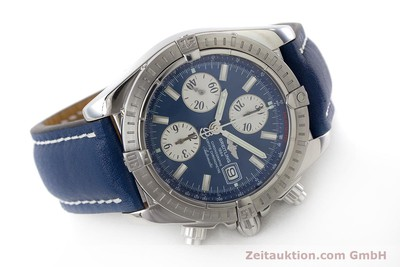 BREITLING EVOLUTION CHRONOGRAPH STEEL AUTOMATIC KAL. B13 ETA 7750 LP: 6750EUR [161552]
