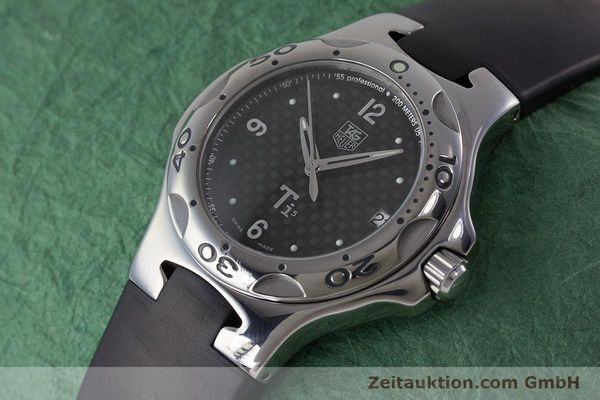 Used luxury watch Tag Heuer Kirium titanium quartz Kal. ETA 251.251 Ref. WL1180  | 161556 01
