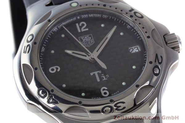 Used luxury watch Tag Heuer Kirium titanium quartz Kal. ETA 251.251 Ref. WL1180  | 161556 02
