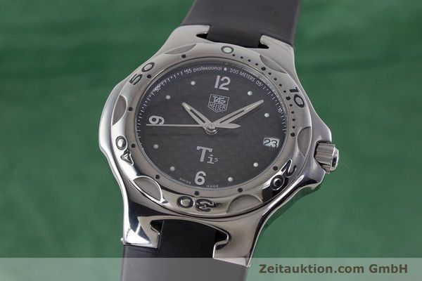 Used luxury watch Tag Heuer Kirium titanium quartz Kal. ETA 251.251 Ref. WL1180  | 161556 04