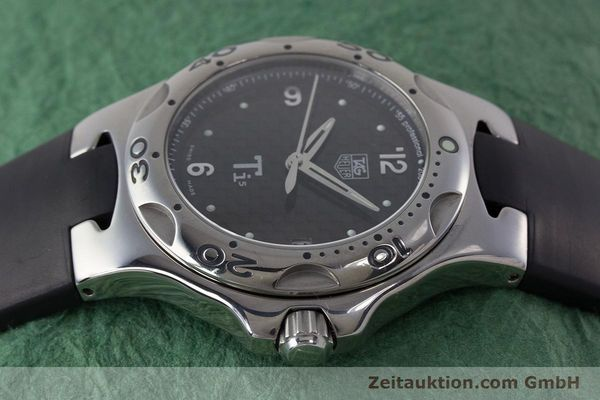 Used luxury watch Tag Heuer Kirium titanium quartz Kal. ETA 251.251 Ref. WL1180  | 161556 05