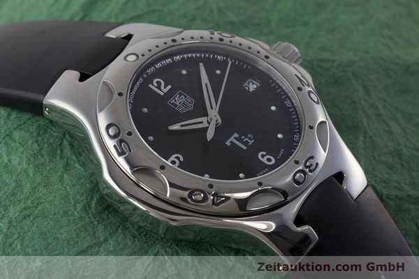 Used luxury watch Tag Heuer Kirium titanium quartz Kal. ETA 251.251 Ref. WL1180  | 161556 13