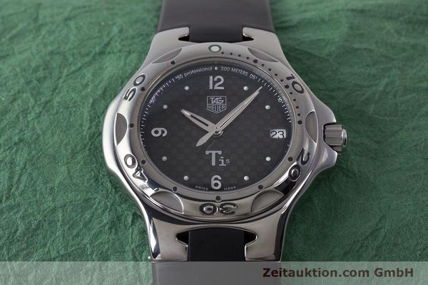 Used luxury watch Tag Heuer Kirium titanium quartz Kal. ETA 251.251 Ref. WL1180  | 161556 14