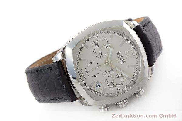 Used luxury watch Tag Heuer Monza chronograph steel automatic Kal. ETA 2894-2 Ref. CR2111  | 161557 03