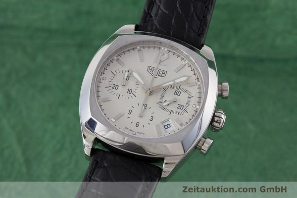 Used luxury watch Tag Heuer Monza chronograph steel automatic Kal. ETA 2894-2 Ref. CR2111  | 161557 04