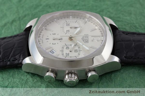 Used luxury watch Tag Heuer Monza chronograph steel automatic Kal. ETA 2894-2 Ref. CR2111  | 161557 05