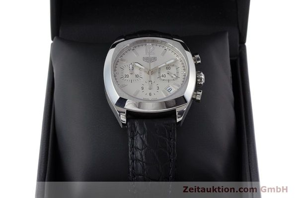 Used luxury watch Tag Heuer Monza chronograph steel automatic Kal. ETA 2894-2 Ref. CR2111  | 161557 07