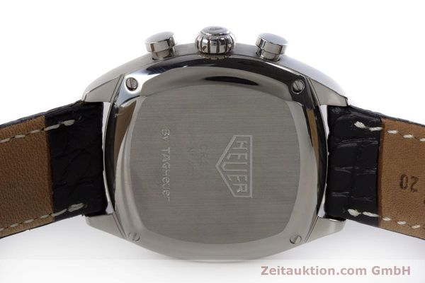 Used luxury watch Tag Heuer Monza chronograph steel automatic Kal. ETA 2894-2 Ref. CR2111  | 161557 09