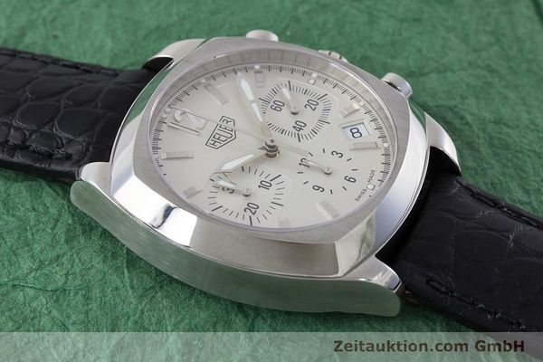 Used luxury watch Tag Heuer Monza chronograph steel automatic Kal. ETA 2894-2 Ref. CR2111  | 161557 13
