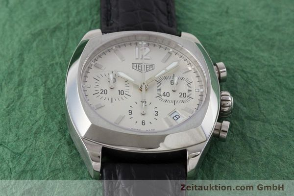 Used luxury watch Tag Heuer Monza chronograph steel automatic Kal. ETA 2894-2 Ref. CR2111  | 161557 14