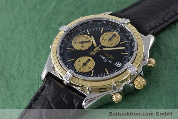 Used luxury watch Breitling Chronomat chronograph steel / gold automatic Kal. B13 ETA 7750 Ref. B13050  | 161559 01