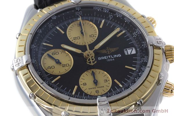 Used luxury watch Breitling Chronomat chronograph steel / gold automatic Kal. B13 ETA 7750 Ref. B13050  | 161559 02