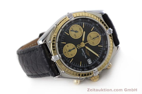 Used luxury watch Breitling Chronomat chronograph steel / gold automatic Kal. B13 ETA 7750 Ref. B13050  | 161559 03