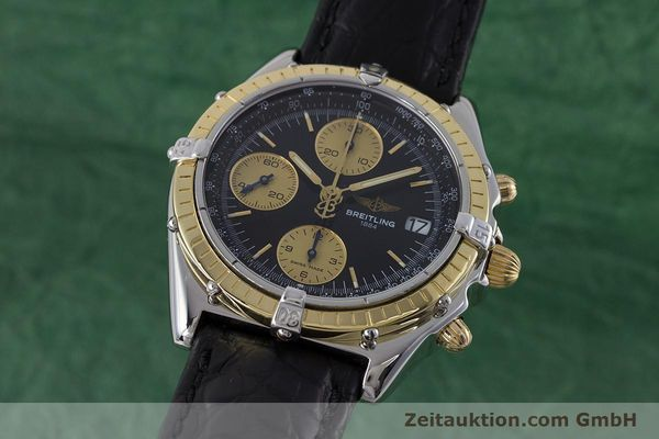 Used luxury watch Breitling Chronomat chronograph steel / gold automatic Kal. B13 ETA 7750 Ref. B13050  | 161559 04